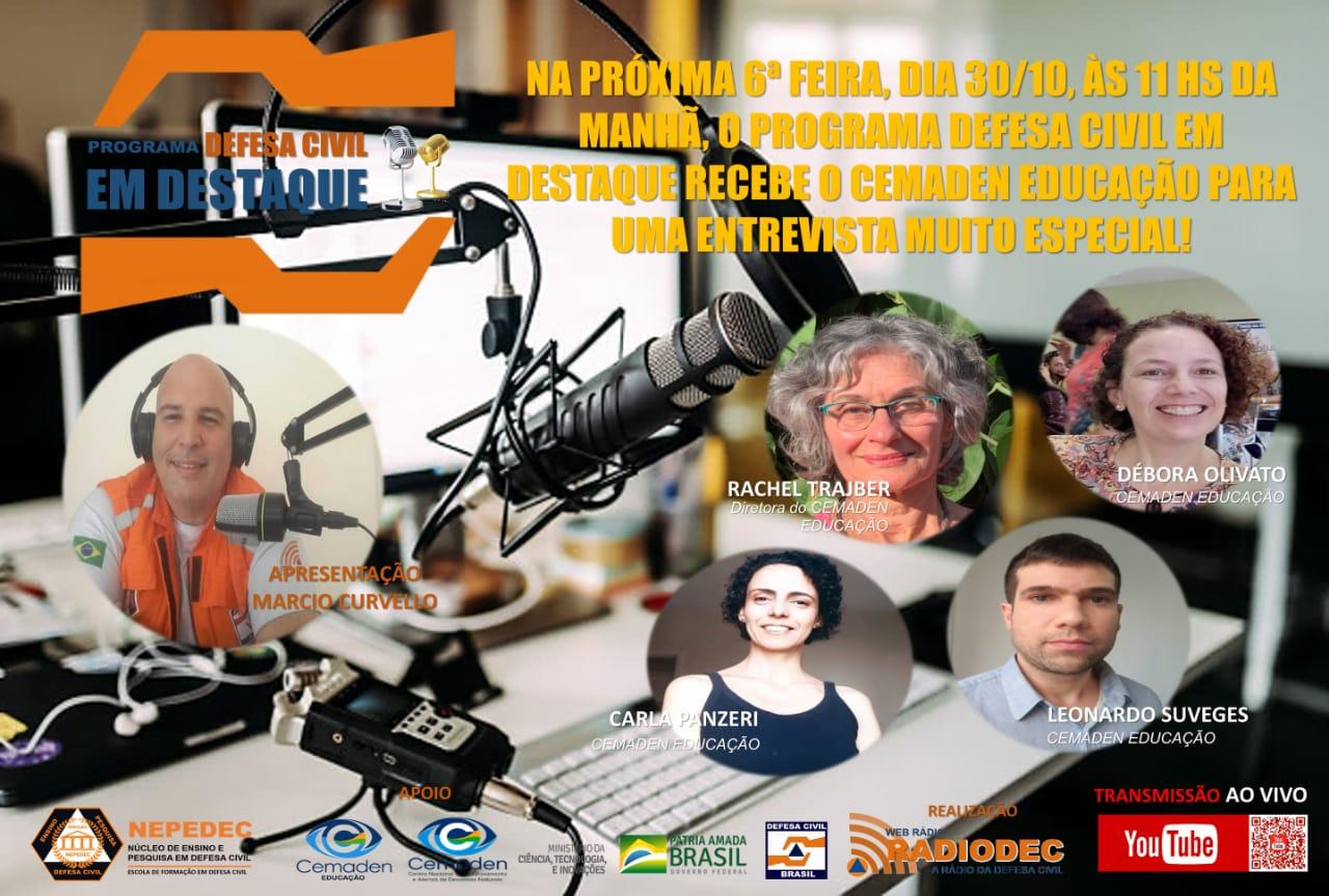 Amanhã, na Web Radiodec, novidades sobre a Campanha #AprenderParaPrevenir!!!